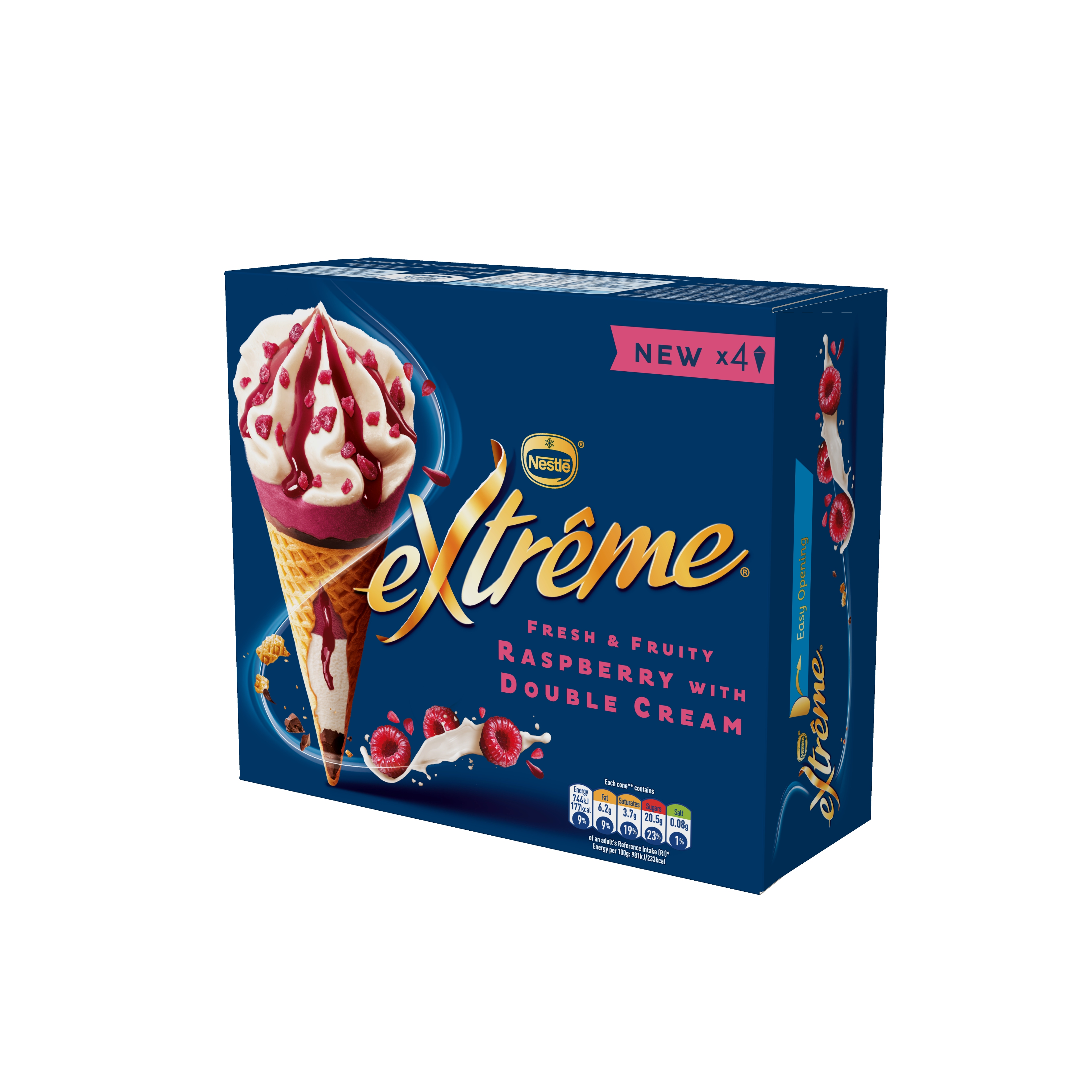 Extreme Raspberry and Cream